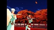 Inuyasha Mmd Sesshoumaru and Kagura Tsugaikogarashi