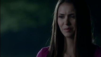 Delena`s first meeting - The Vampire Diaries - 3x22 - Season Finale -