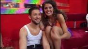 Dancing Stars - Михаела Филева минути преди предаването 18.03.2014 г.