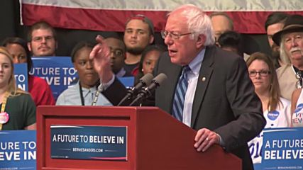USA: Sanders outlines path to victory at Evansville rally