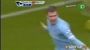 Супергол на Рууни донеса победа на Юнайтед в градското дерби