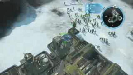 Halo Wars Demo: Unsc skirmish 3/4