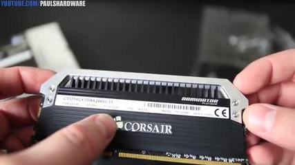 Corsair Dominator Platinum Airflow 16gb 2666 Ddr3 Memory Kit
