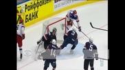 САЩ победиха Русия с 4:2 на световното по хокей на лед