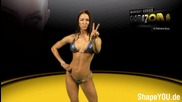 Stephanie Davis - Trailer Glamazon workout series - coming 16.02.2015
