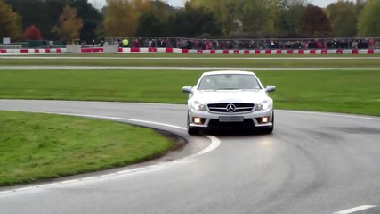 Mercedes Amg roadcars and F1 Safety Car - Powered by Mercedes-benz Live '09