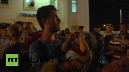 Croatia: Police, refugee tensions reach breaking point in Tovarnik