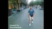 Руснак Прави Опит За Салто На Улицата- Неуспешен Естествено