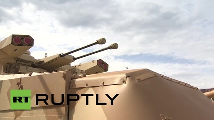 Russia: UVZ unveil latest military hardware at Army-2015 expo