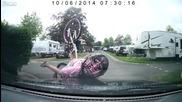 Дете колоездач се забива в кола