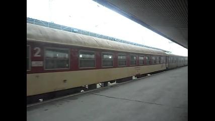 Бв 3623 с 46 221 заминава от Централна гара