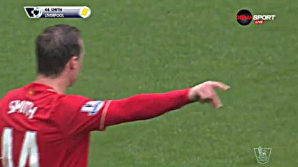Ливърпул остана с 10 на терена срещу Суонси