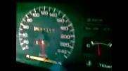 nissan sunny n13 turbo 100-250+km_h (wet tarmac)