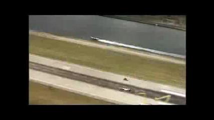 Кола F1 Срещу Мотор И Лодка Невероятно