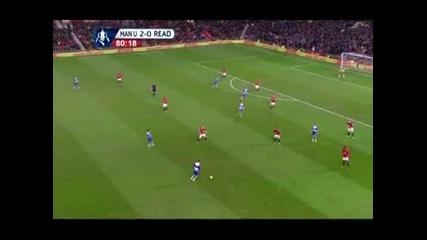 """""""Манчестър Юнайтед"""" продължава за ФА Къп след 2:1 над """"Рединг"""""""