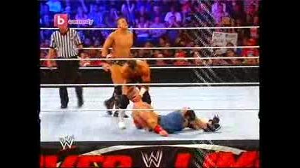 Wwe: Джон Сина vs. Миз (мач без правила) - Отвът предела 24.06.2011 част 1/2