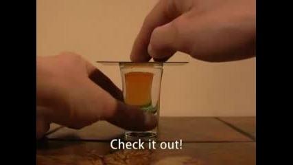 Трик С Уиски И Вода