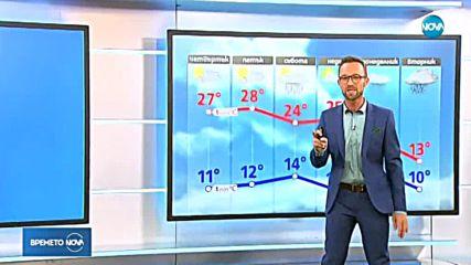 Прогноза за времето (21.09.2018 - обедна емисия)