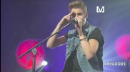 Страхотен live ! Justin Bieber - As Long As You Love Me - Acoustic - 19.07.12