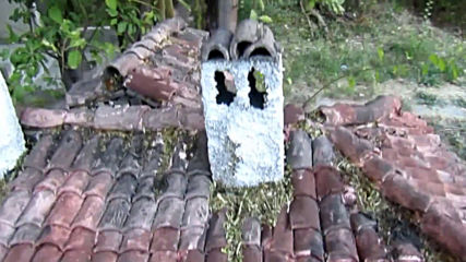 Стара къща макет (diorama model of realistic bulgarian house)