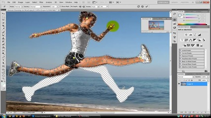 Как да местим крайници(предмети) с photoshop cs5 (puppet warp)