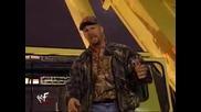 Stone Cold Steve Austin Destroys Dx autobus