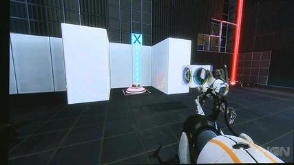 Portal 2 Co - Op Gameplay Part 2 - Pax 2010