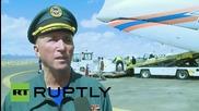 Yemen: EMERCOM plane delivers vital aid to Sanaa