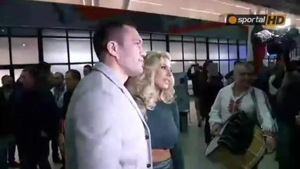Шампионско посрещане на Кобрата в София