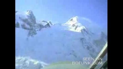 Поглед Над Швейцарските Алпи