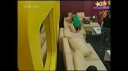 Big Brother 4-Стана Страшно!МЪЖКИ БОЙ За Иванина!12.11.2008