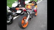 Bmw S1000rr(akrapovic) e Honda Cbr 1000rr Repaol(yoshimura) sound