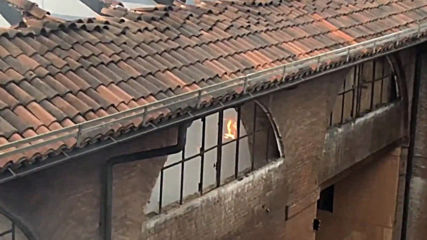 Italy: Roof collapses in fire at Unesco site Cavallerizza Reale