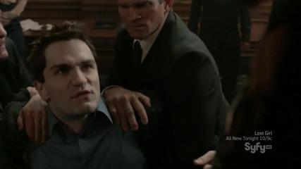Ейдън е прогонен от вампирското общество - Being Human Us
