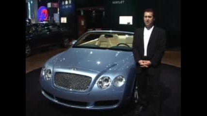 2007 Bentley Continental Gtc - Auto Show