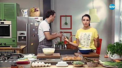Сладкиш с юфка и яйчен крем - Бон апети (18.05.2018)