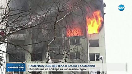 Седем жертви на газовата експлозия в Словакия