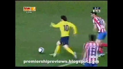 01.03 Атлетико Мадрид - Барселона 4:3 Лео Меси Гол