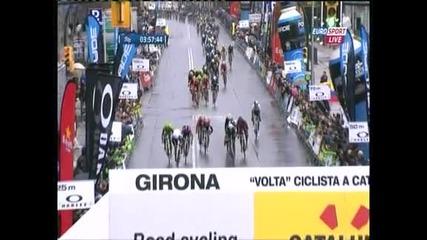 Словенец с втора победа в Обиколката на Каталуния