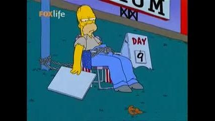 [s14 ep18] Семейтсво симпсън [бг Аудио] / The Simpsons Bg Audio (08.07.2009)