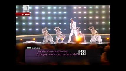 Миро - Не се класира - Ангел си ти (you are an Angel) - Евровизия 2010 Осло - Втори полуфинал