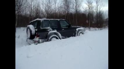 4x4 Winter off road - Nissan Patrol Y60 - Brzesko, :d
