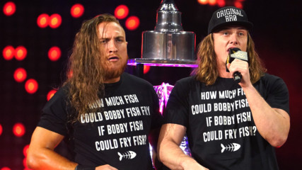 "Matt Riddle leads NXT Universe in ""Fishy"" sing-a-long: NXT TakeOver: Portland (WWE Network Exclusive)"