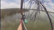 Страхотен риболов с лък !