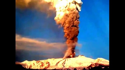 Изригване на вулкана Etna 2012