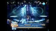 Невена Бозукова като Джон Нюмън - Като две капки вода - 31.03.2014 г.