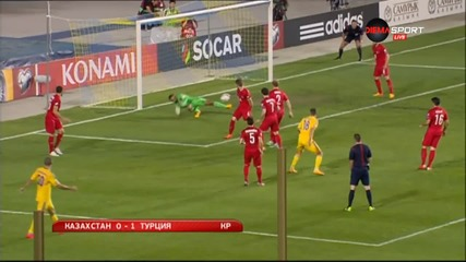 Казахстан - Турция 0:1
