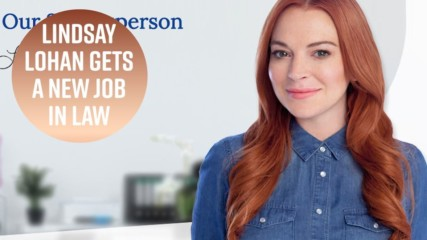 Lindsay Lohan now works at a lawyer directory firm
