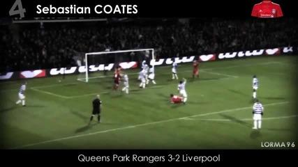 Топ 10 Най-красиви голове-barclays Premier League-2011-2012