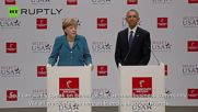 President Obama and Chancellor Merkel Open Hannover Messe 2016